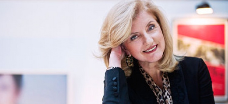 "Arianna Huffington: ""It's not all about money and power"""