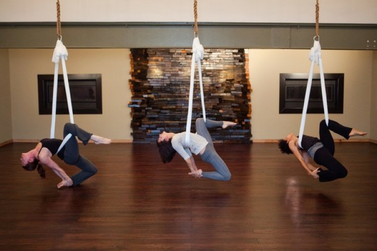 Get High with Aerial Yoga