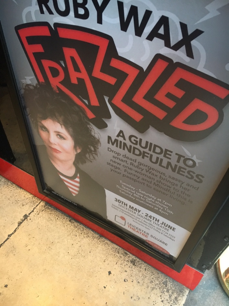 Frazzled is Ruby Wax's New London Show
