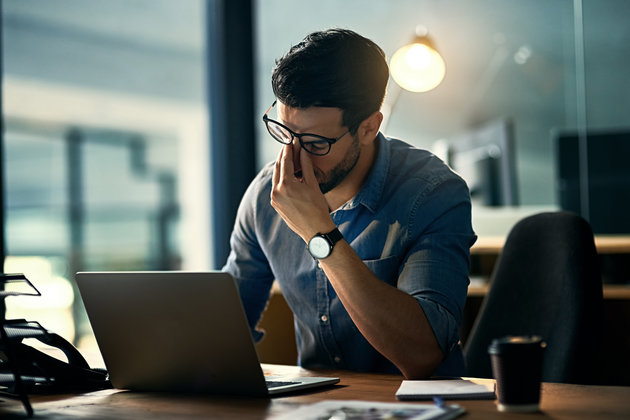 More Men Suffer Work-Related Mental Health Problems