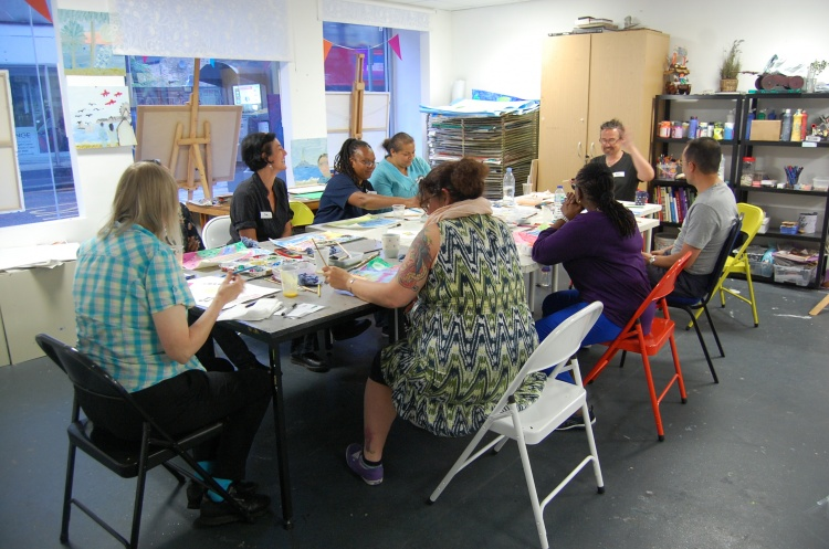 Studio Upstairs: Leading Creative Recovery