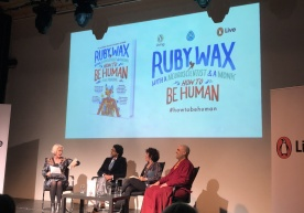 Ruby Wax Talks About Her New Book How to Be Human