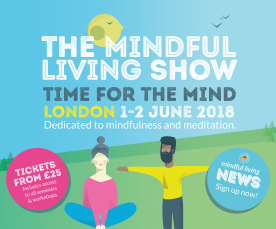 Come to the Mindful Living Show in London in June