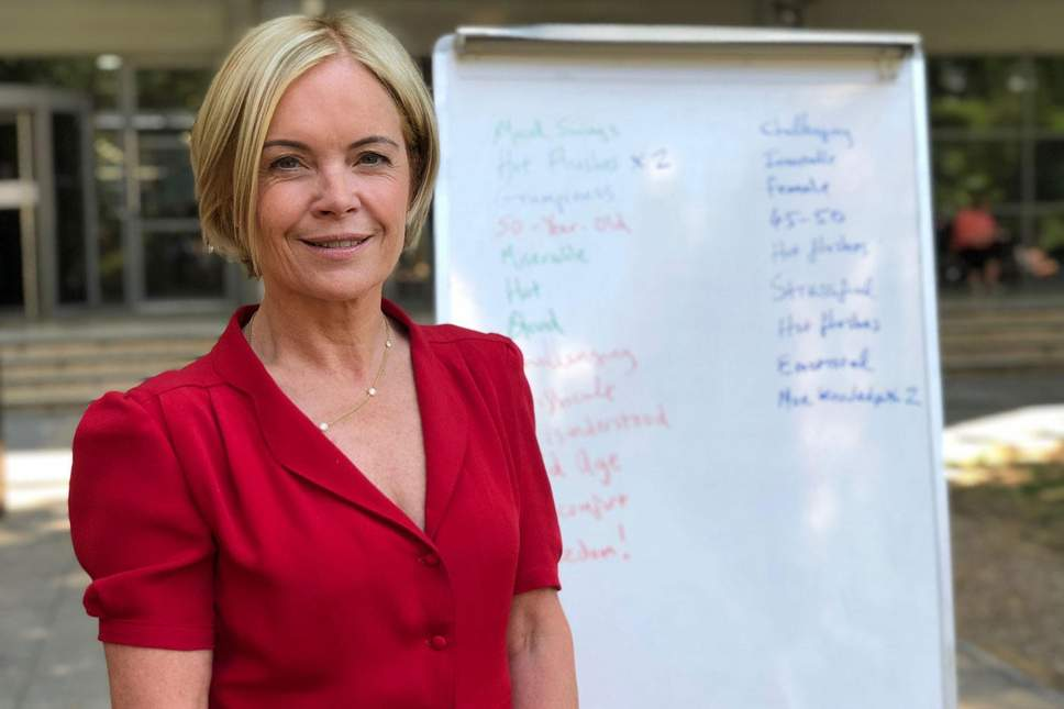 Mariella Frostrup on How CBT Helps With Menopause Symptoms