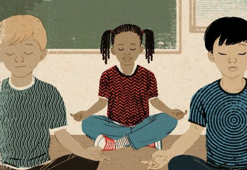 New Research Shows Benefit of Mindfulness Techniques in Schools