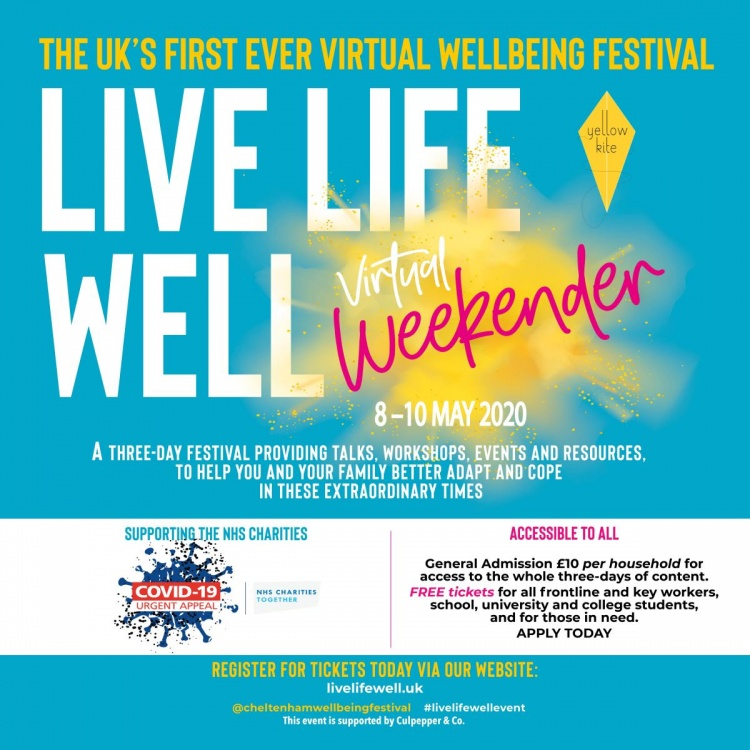 Join the UK's First Virtual Wellbeing Festival