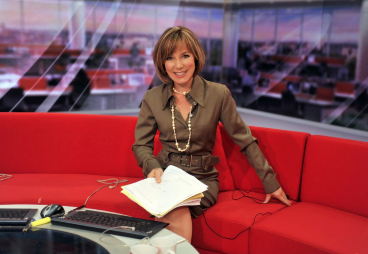 How Sian Williams Mixes Counselling NHS Patients With News Reading